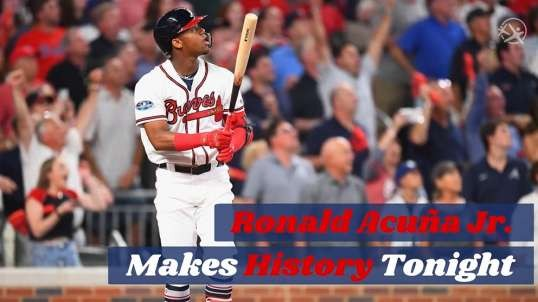 #LatinoAthlete Ronald Acuna Jr. Makes History With Grand Slam!