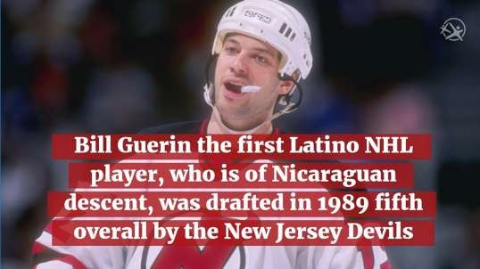 Did You Know!? First Latino Hockey Player