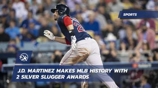 J.D. Martinez Makes MLB History With 2 Silver Slugger Awards