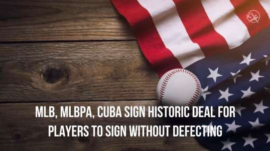 Major League Baseball and Cuba Sign Historic Deal