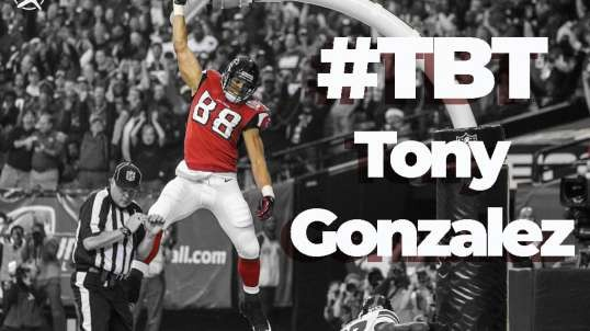 #TBT to the #GOAT Tony Gonzalez