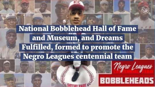 Negro League BobbleHeads Coming!