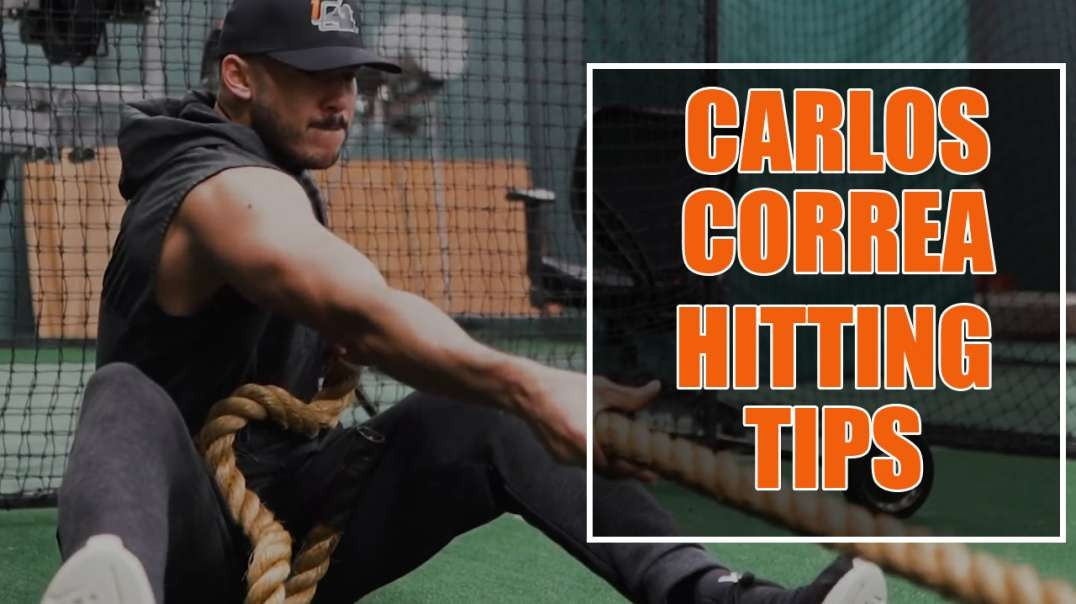 Hitting with Carlos Correa as he trains HARD for 2019