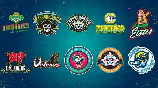 Latino Themed Minor League Baseball Logos Are Amazing